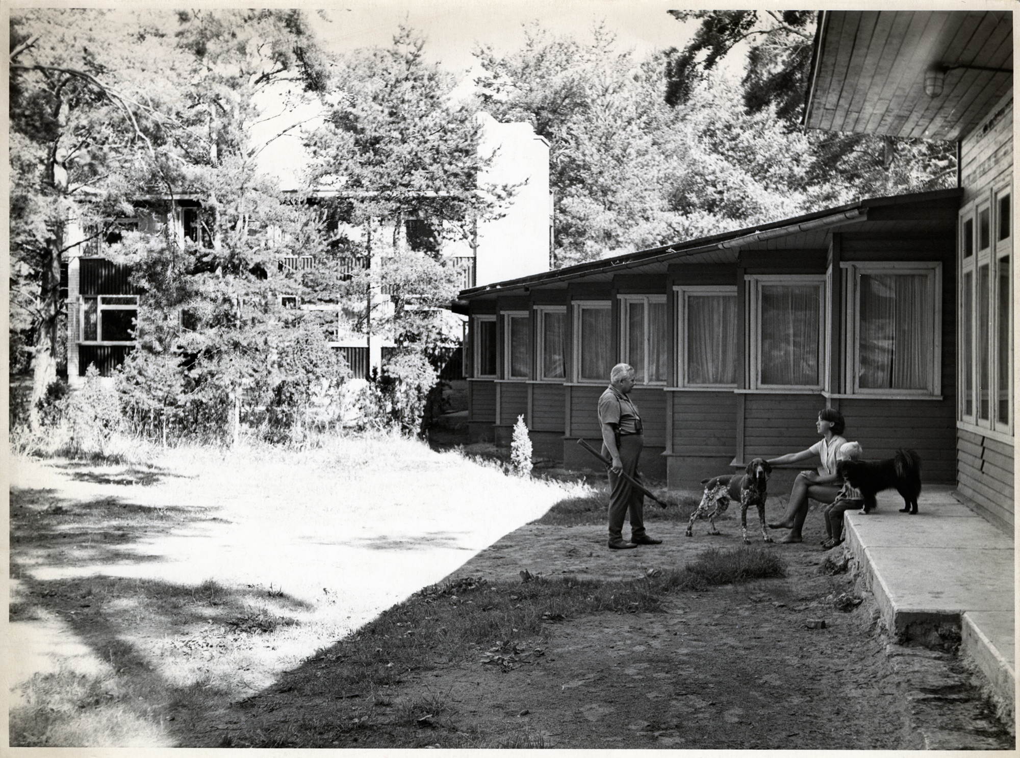 Tartu Õlletehase puhkebaas Võrtsjärve ääres. Arhitekt Raul-Levroit Kivi, 1960–1969. Foto: Eesti Arhitektuurimuuseum