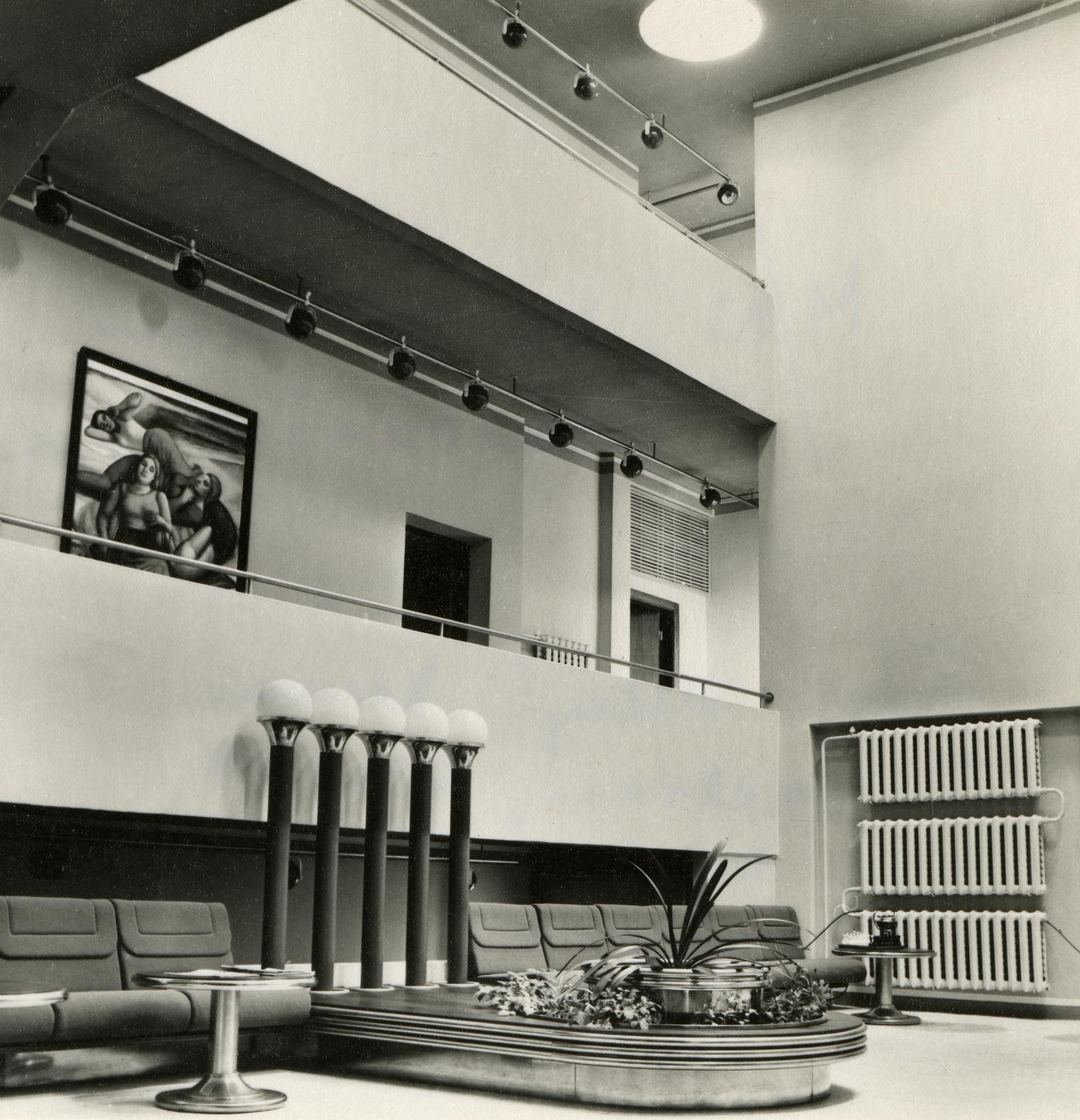 ENSV Ministrite Nõukogu puhkebaas Narva-Jõesuus. Arhitekt Marika Lõoke, sisearhitekt Taevo Gans, 1976–1980. Foto: Eesti Arhitektuurimuuseum