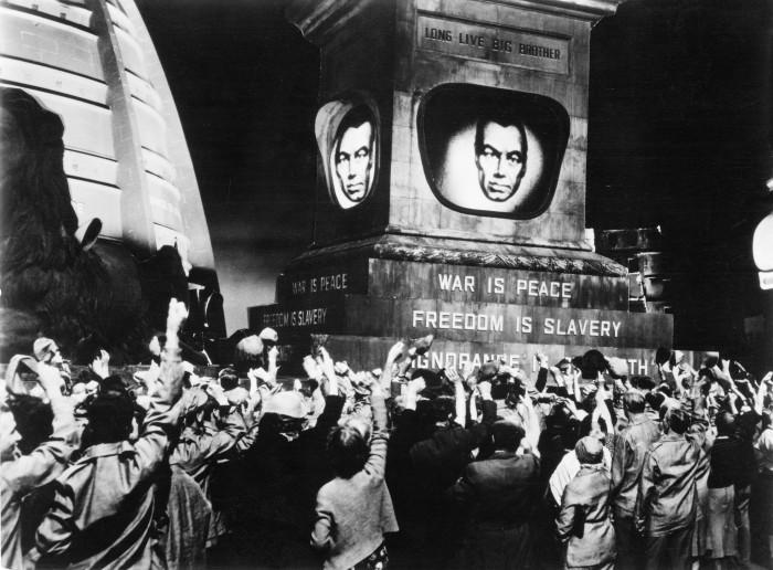 """Michael Andersoni ekraniseering George Orwelli raamatust """"1984"""". Kaader filmist"""