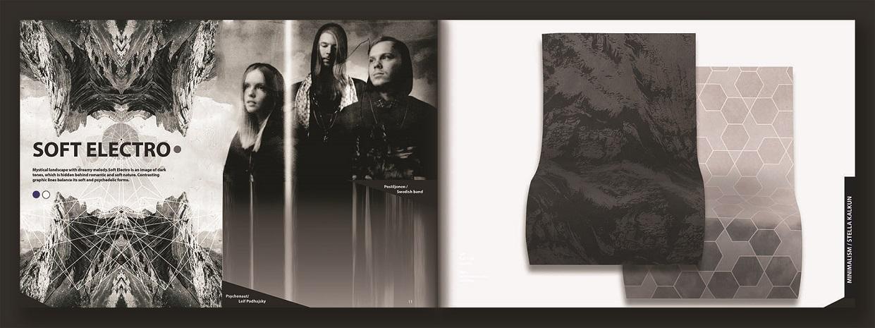 Näiteid Stella Kalkuni tekstiilidest