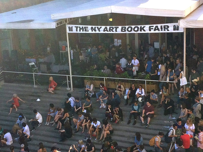 NY Art Book Fair 2014. Photo: Lugemik.