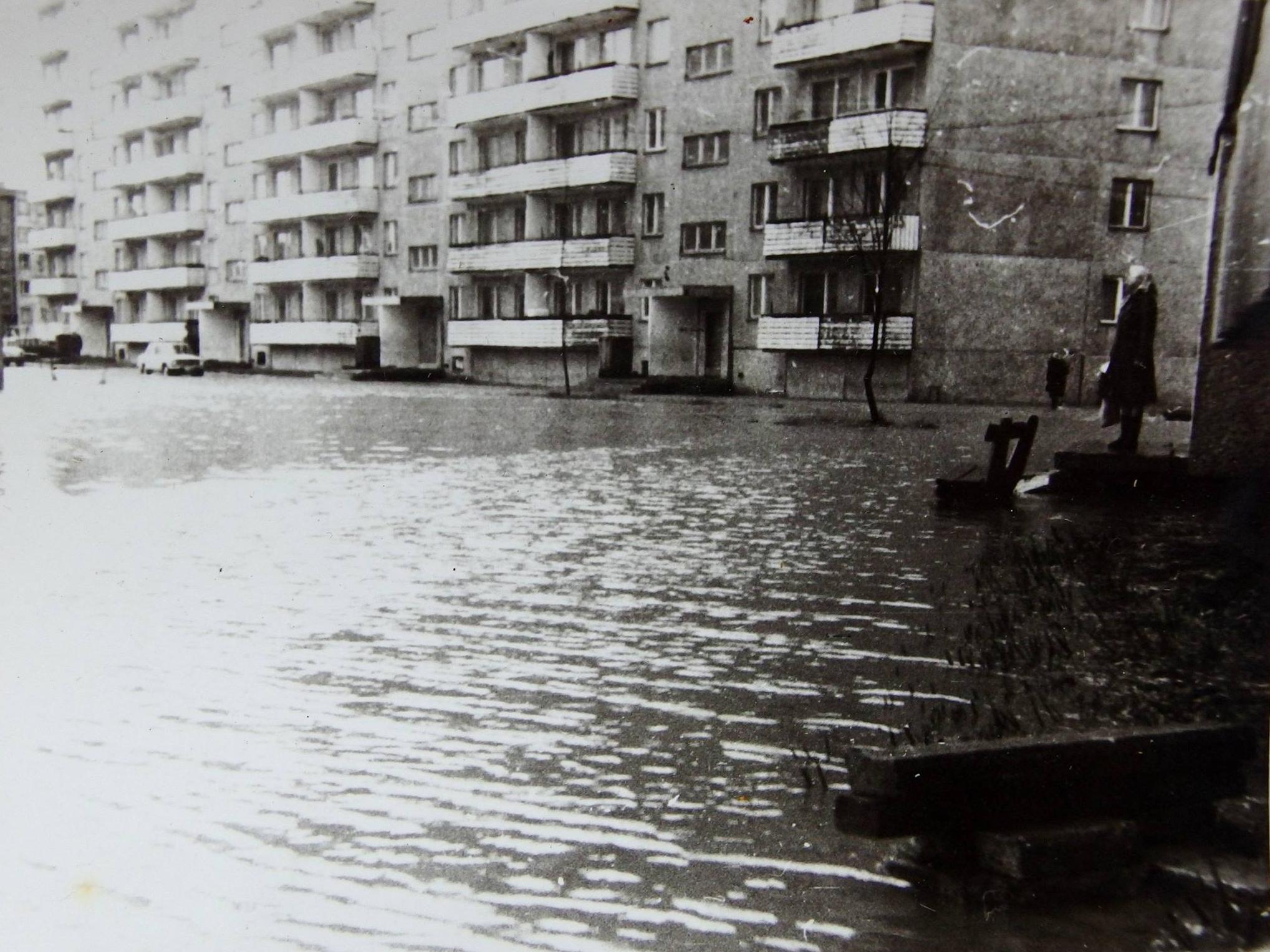 Üleujutus Annelinnas. Foto: Autor teadmata