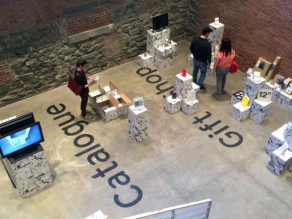 NY Art Book Fair, Weerkplaats Typografie show view, MoMA PS1, 2014. Photo: Lugemik.