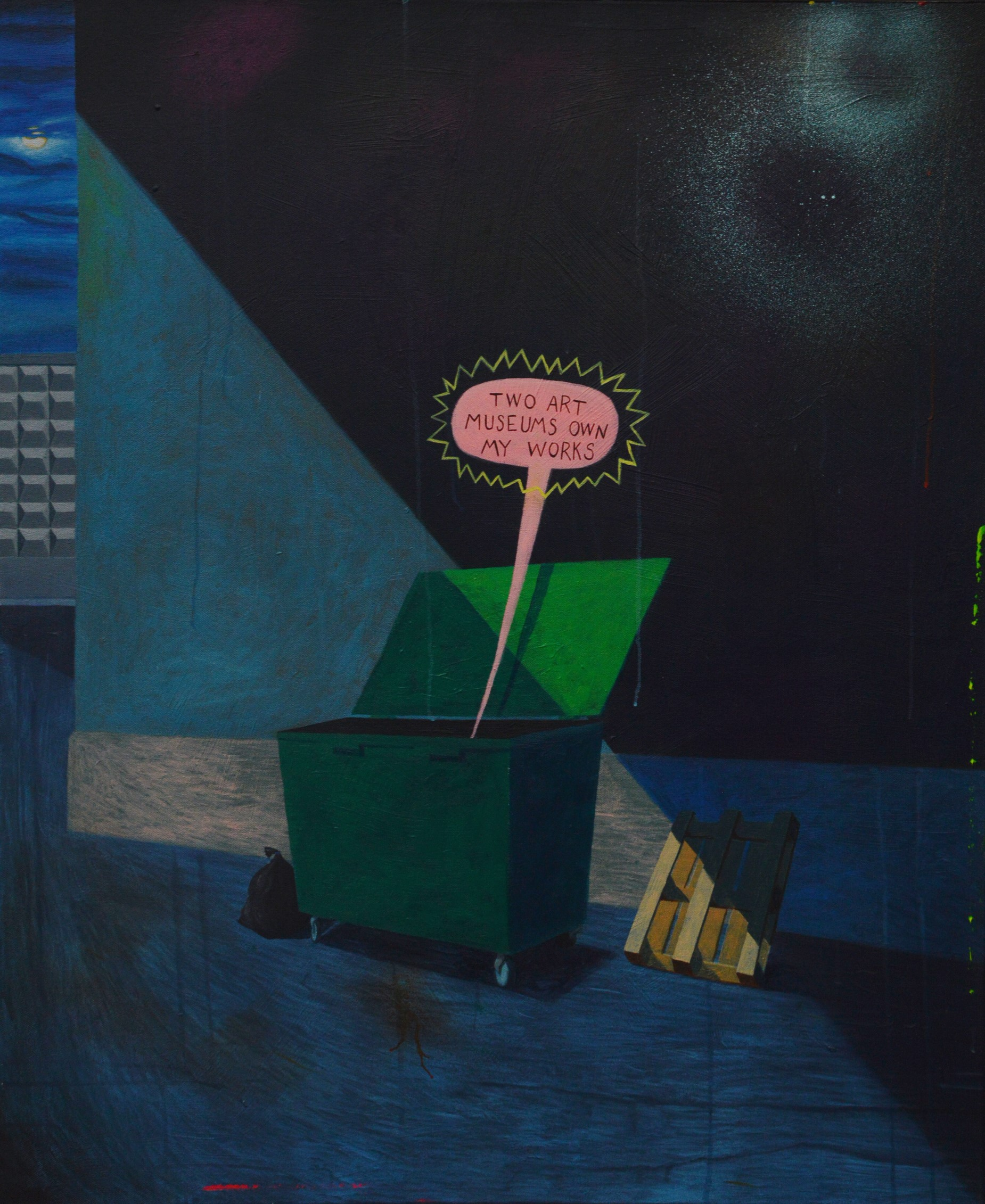 "Alexei Gordin, ""Nurga taga"", 2017"