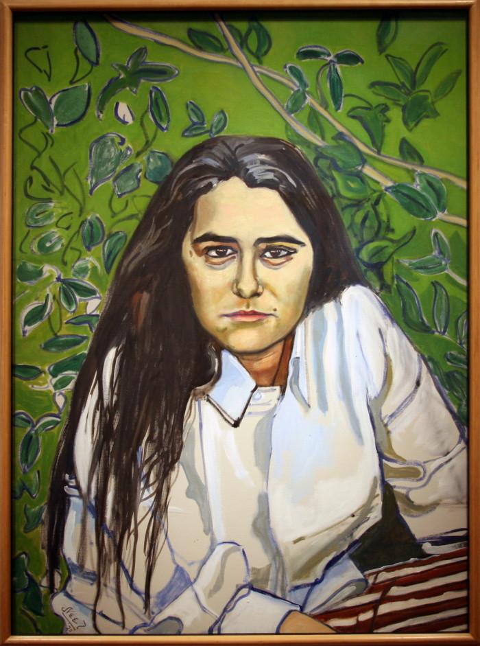 "Alice Neel ""Katharine Murray Millett"" (1970). Foto: Cliff (CC BY 2.0)"