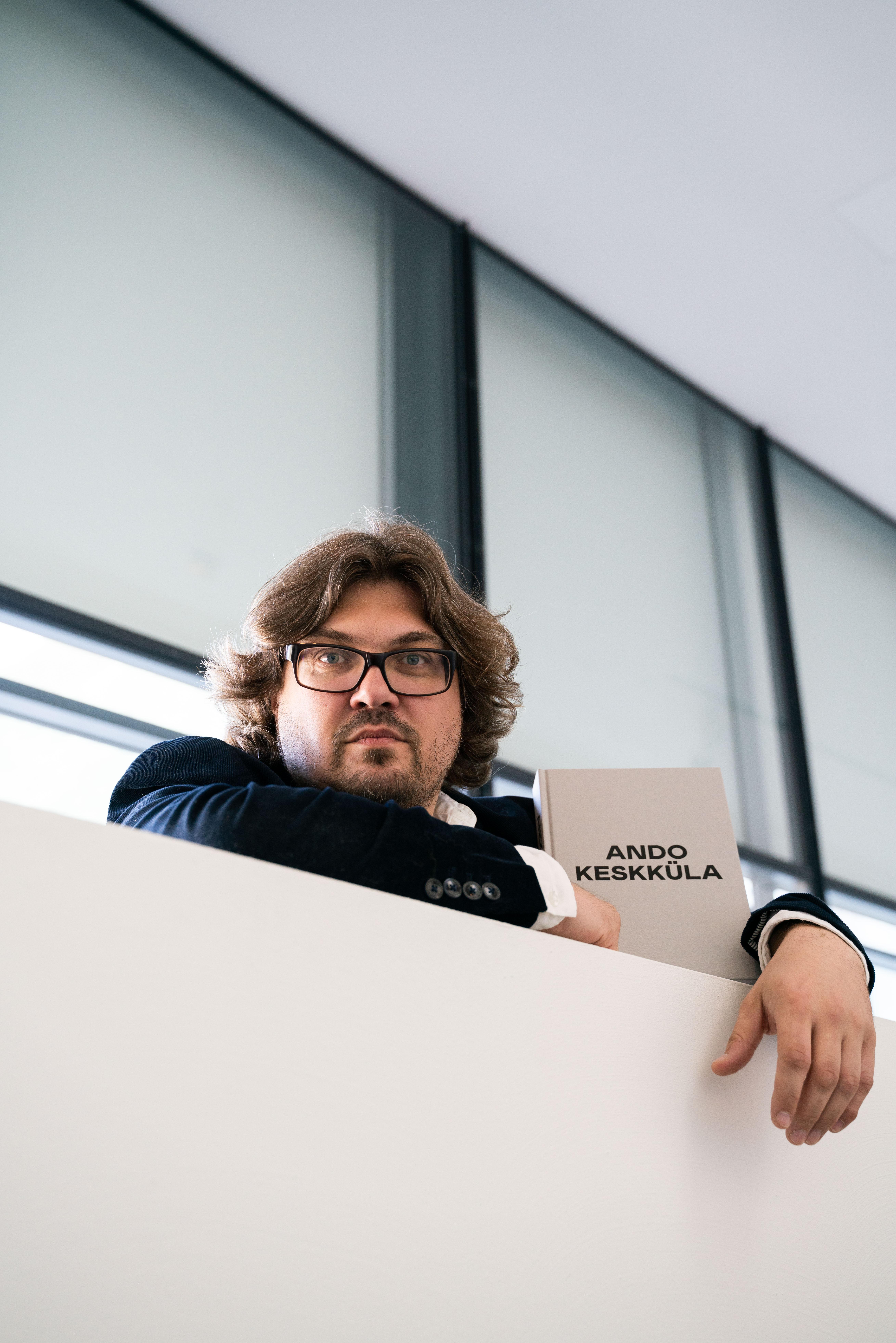 Anders Härm. Fotod: Mihkel Ernits