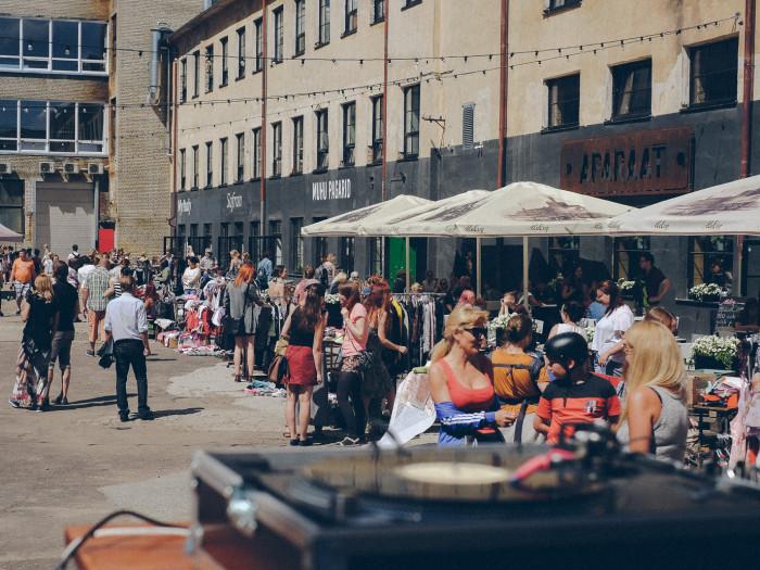 Aparaaditehas pakub majafestivali raames tegevusi kolmapäevast nädala lõpuni. Foto: press