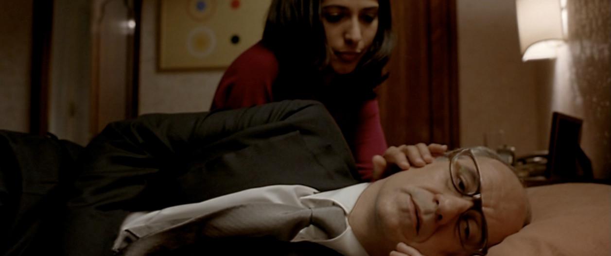 """Toni Servillo ja Olivia Magnani filmis """"Armastuse tagajärjed"""""""