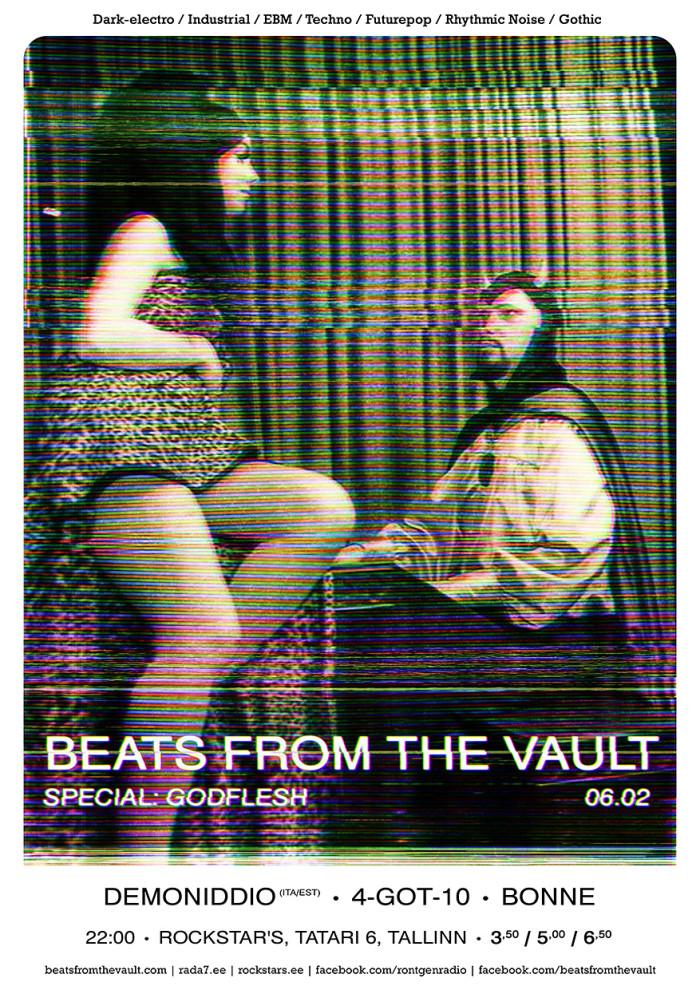 Beats From The Vaulti iseloom peegeldub ka nende plakatites. Autor: Rene13
