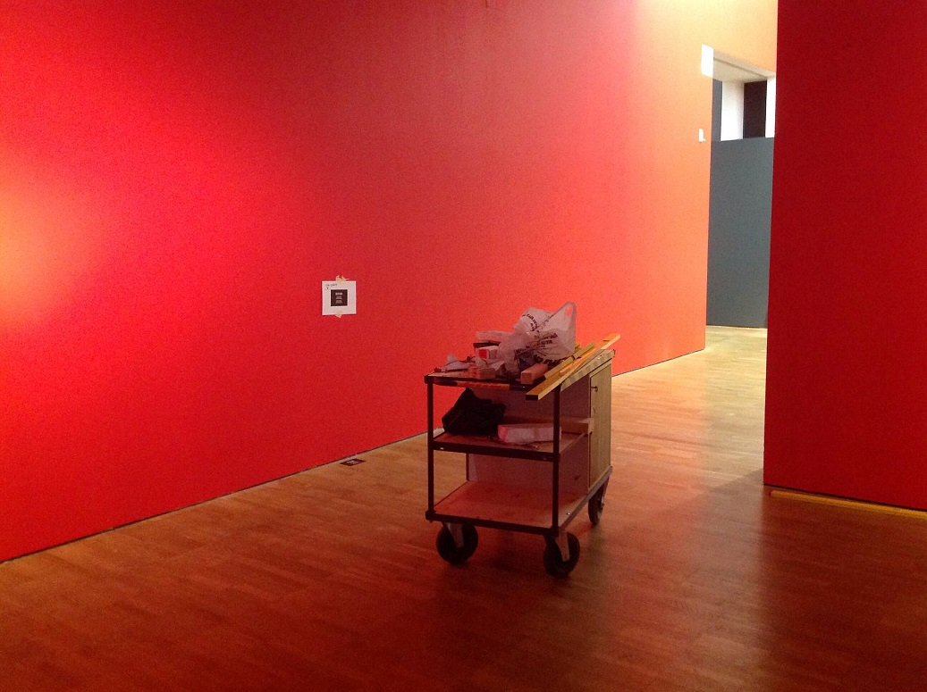 Näitusesaal kunsti ja publiku ootel. Foto: Maarin Mürk