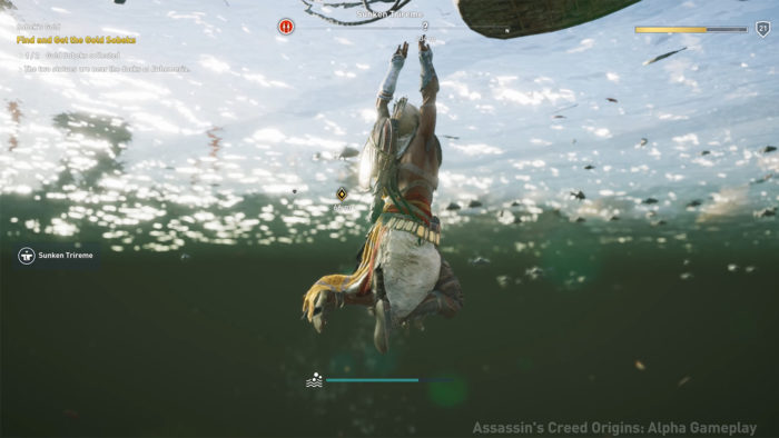 Assassin's Creed Origins. Kuvatõmmis