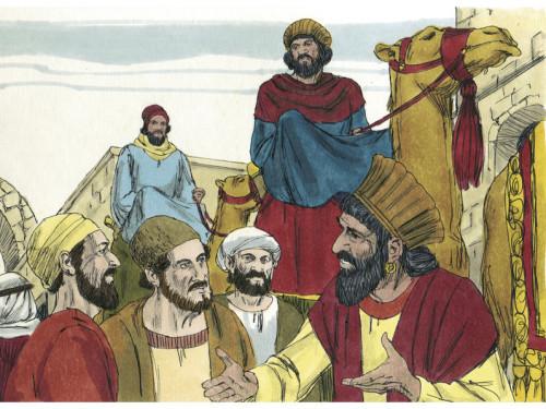 Sündmuste käik Matteuse evangeeliumi 2. peatükis. Illustratsioon: Jim Padgett (Sweet Media, CC-BY-SA 3.0)