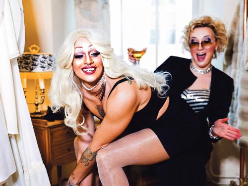 Gei-, drag'i- ja ka absoluutselt kõigi teiste sõbraliku Tallinna peosarja tegijad. Kõik fotod: Priit Mürk