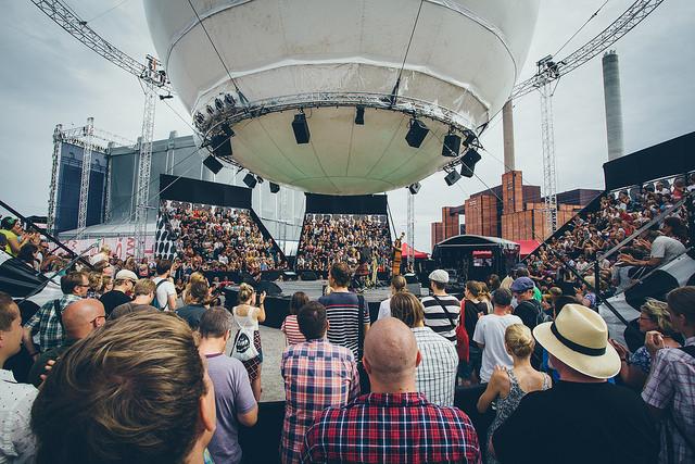 Balloon 360° Stage. Foto: Samuli Pentti