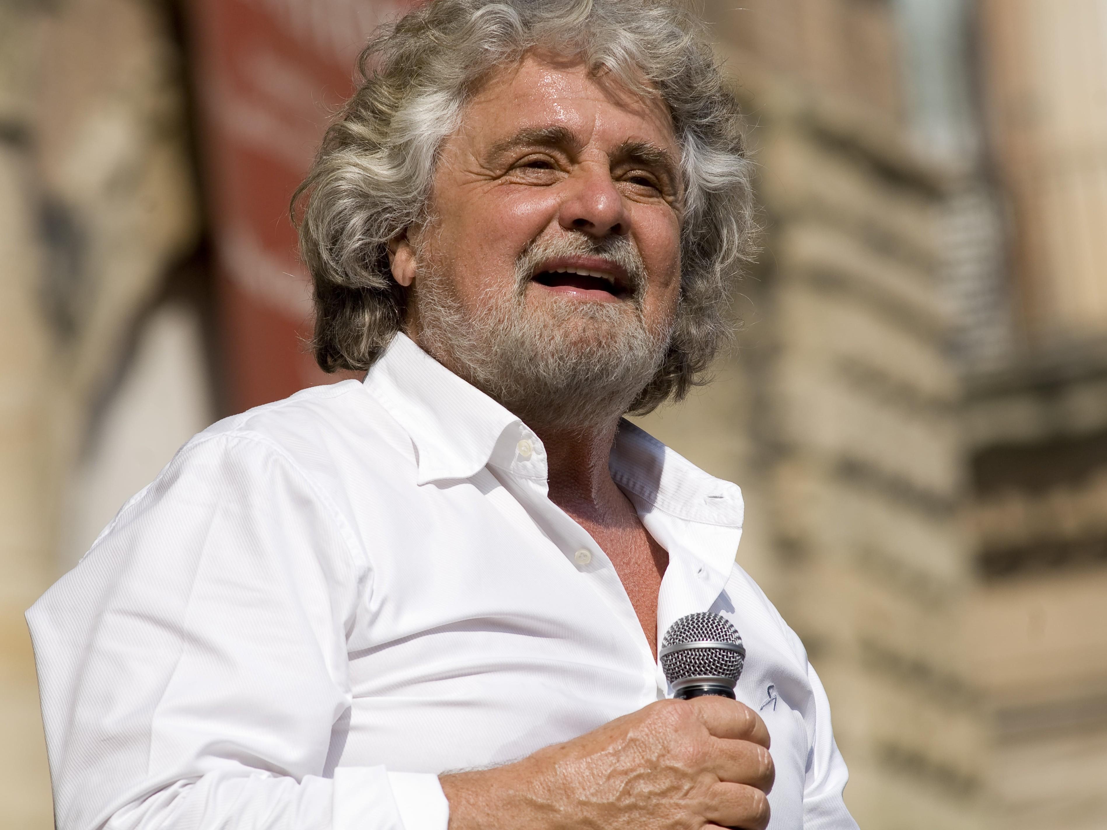 Beppe Grillo. Foto: Giovanni Favia (CC by SA 2.0)