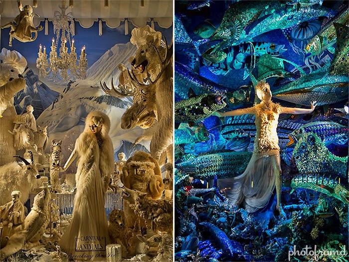 Bergdorf Goodmani vaateaknakujundus. Foto: Photoframd