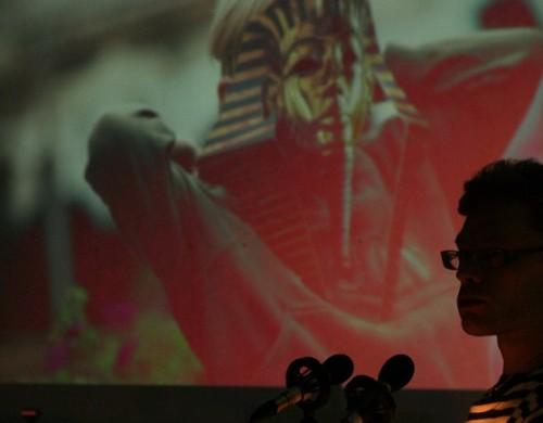 Berk Vaher Õnnekonverentsil 2012. Foto: Kaja Pae