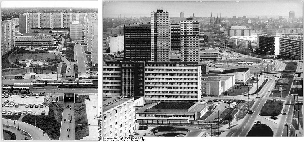 Ida-Saksa paneelmajad. Foto: Wikimedia Commons