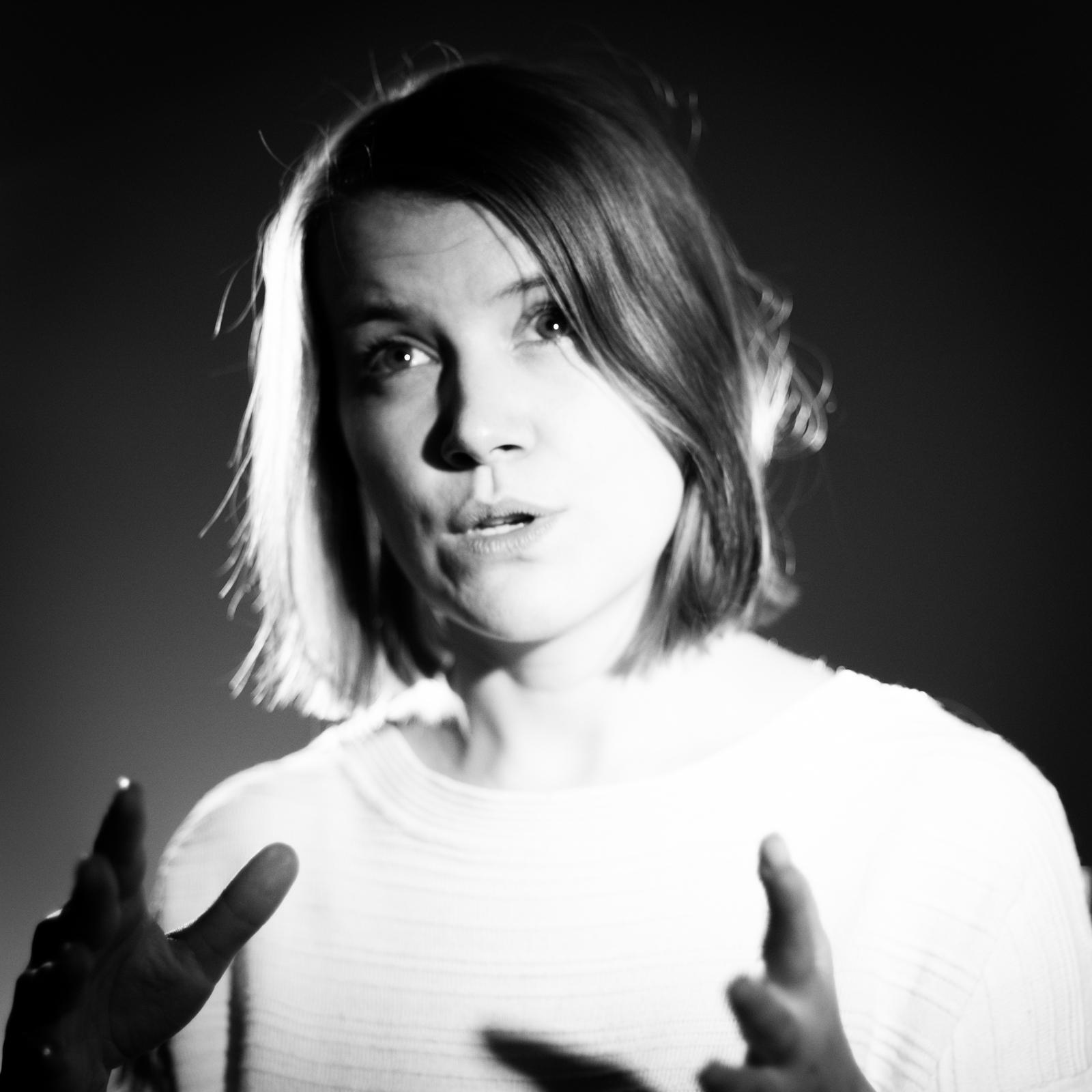 Birgit Landberg. Foto: Gabriela Urm
