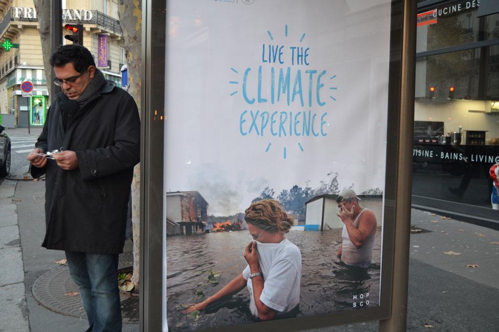 Plakati autor: Bill Posters. Foto: www.brandalism.org.uk