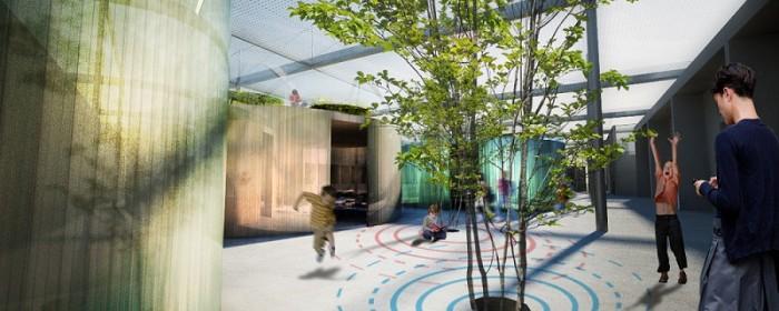 Õppimise aed. Arhitektid Carlo Ratti ja Walter Nicolino. Autor: Carlo Ratti Associati