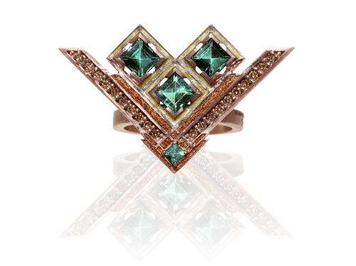 Jewellery by Anita Sondore. Publicity photo.