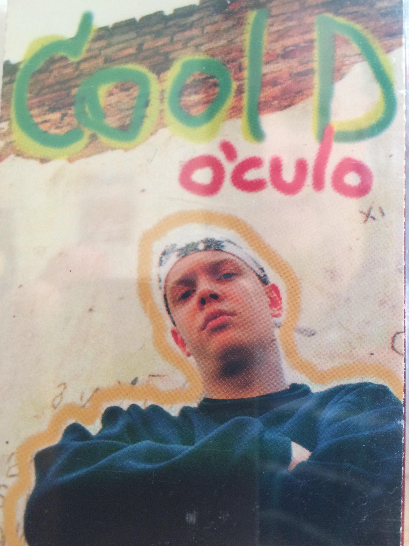 """Cool D 1995. aastal ilmunud """"O'culo"""" esikaas. Kujundus ja foto: Kalle Müller"""