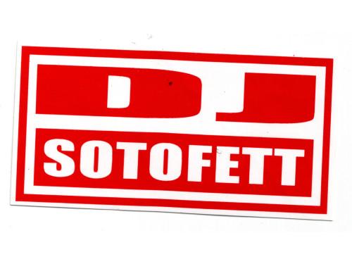DJ Sotofett logo red