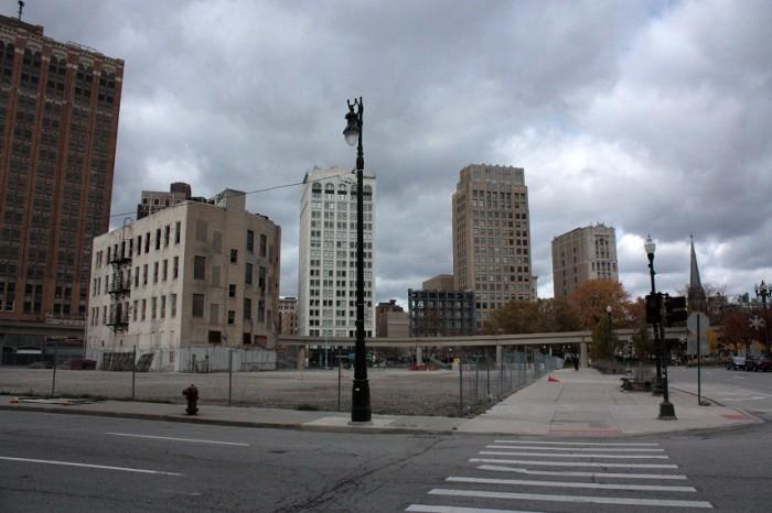 Density of 'emptiness' – Detroit in 2013. Photo by Giulia Ragnoli