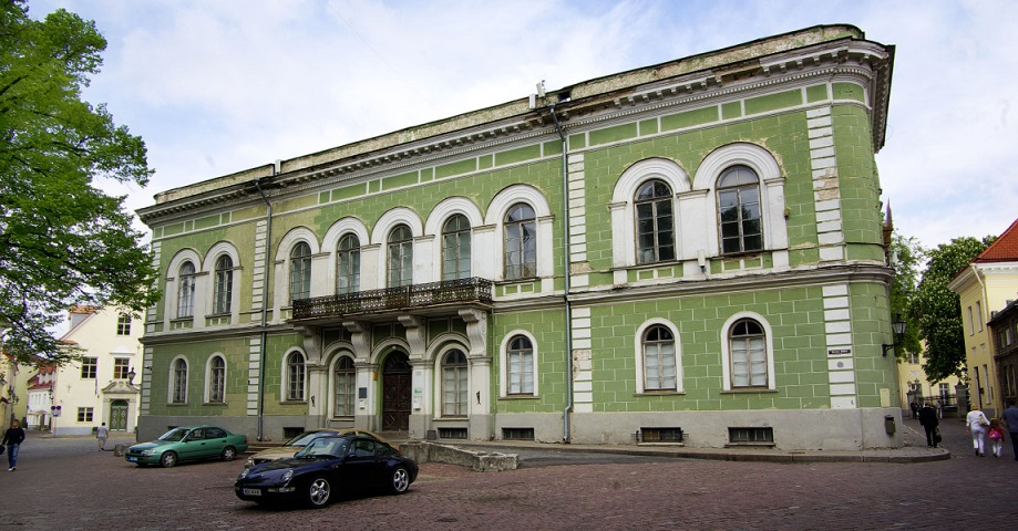 Eesti Kunstiakadeemia Rüütelkonna hoone. Foto: www.artun.ee.
