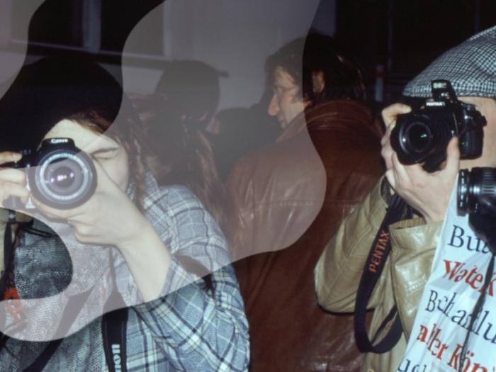 EKA fotograafia osakonna üliõpilased õppereisil Berliinis 2008. aastal. Foto: Kristiina Hansen