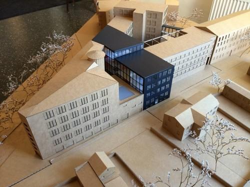 """Võidutöö """"Linea"""" makett. Foto: KUU Arhitektid"""