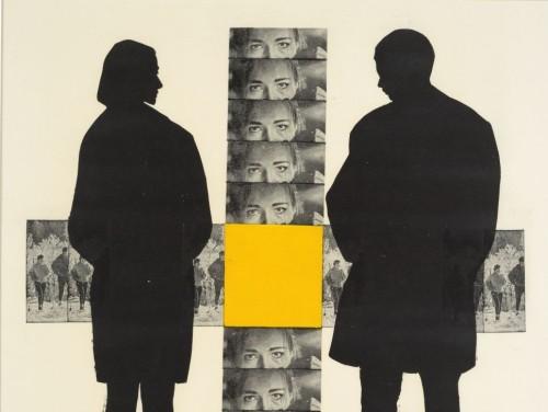 """Kaljo Põllu """"Mälestused"""" (1968). Eesti Kunstimuuseumi graafikakogu. EKMi digitaalkogu loal"""