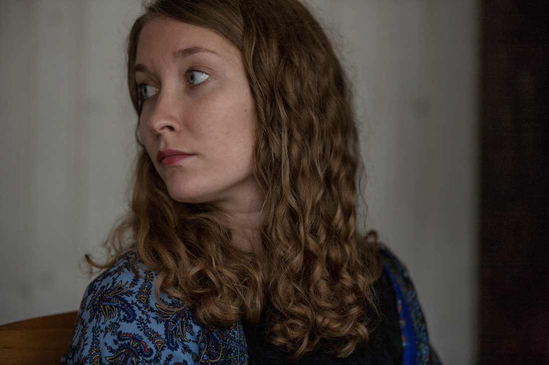 Luuletaja Eda Ahi. Foto: Peeter Laurits