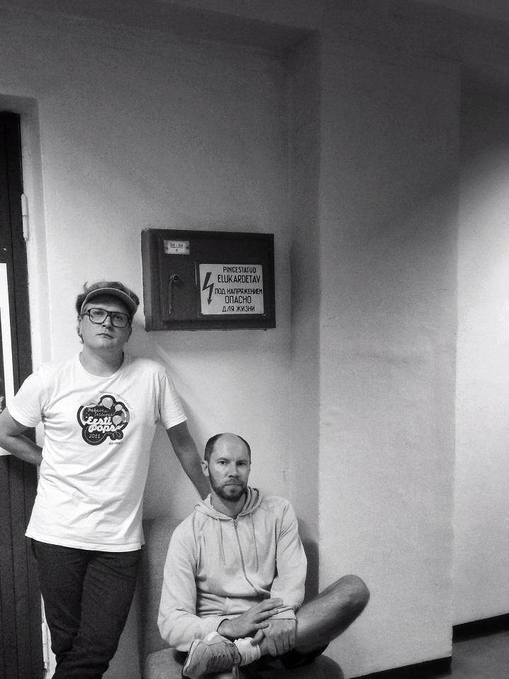Eesti Popsi eestvedajad. Vasakult Janek Murd ja Erkki Tero teevad ja naudivad ise muusikat ning püüavad tagada, et see jõuab ka teisteni. Foto: Erkki Tero