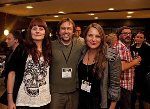 (Vasakult paremale:) Marion Koppel, Priit Tender ja Anna Hints. Foto: Anne Oswald.