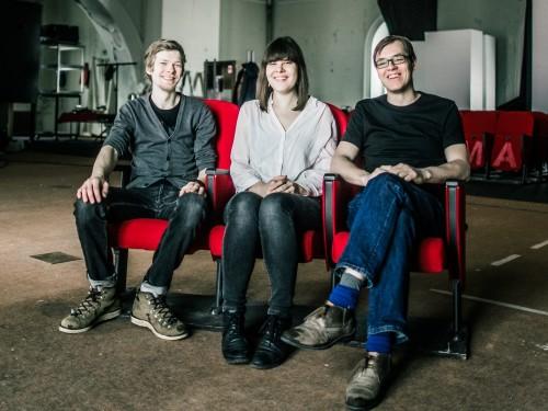 Mihkel Salk, Elo Vilks ja Andres Kauts. Foto: Gabriela Liivamägi