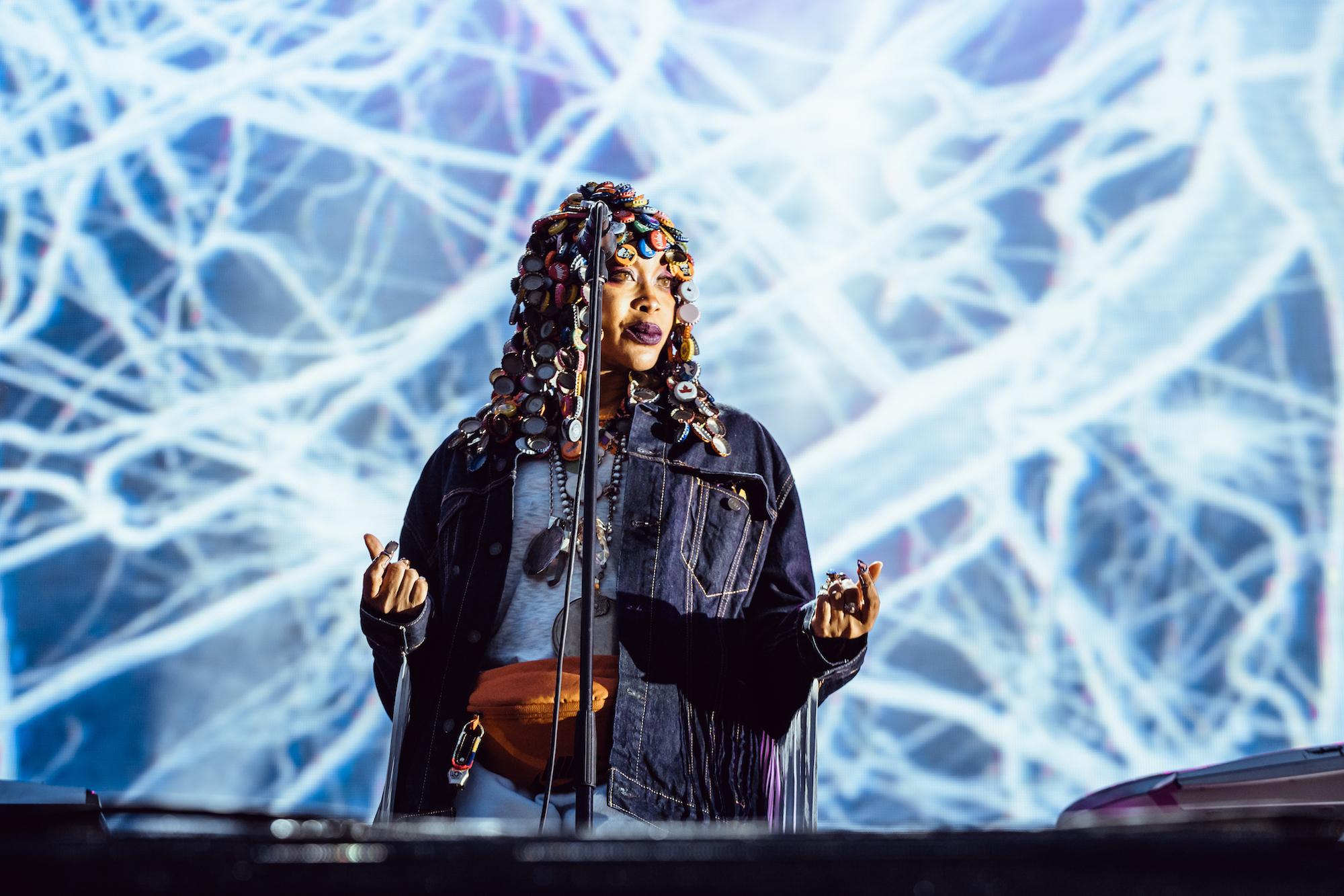 Erykah Badu. Foto: Konstantin Kondrukhov