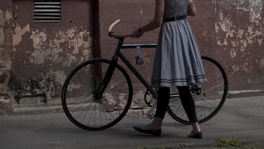 """Esclice"" bicycle. Photo from velo.la."