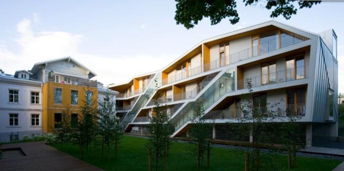 Koidula apartment building. Photo: 3+1 Architects