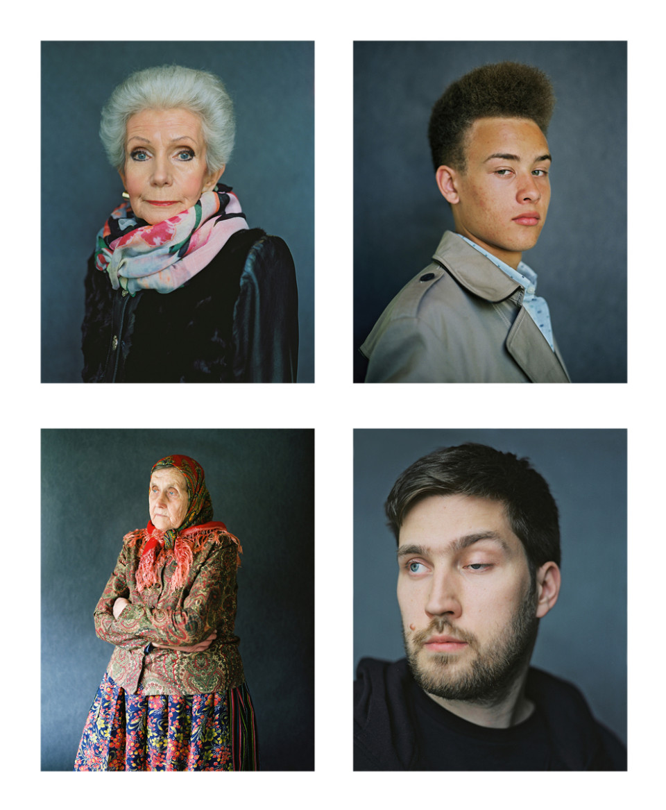 (Up from the left): Maie, 2014; Mac, 2014. (Down from the left): Virve, 2014;  Laur, 2014. Photos: Birgit Püve
