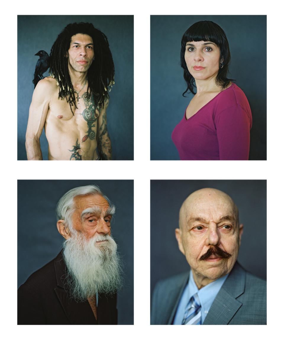 (Up from the left): Gregory, 2014; Merike, 2014. (Down from the left): Hugo, 2014; Jüri, 2014. Photos: Birgit Püve