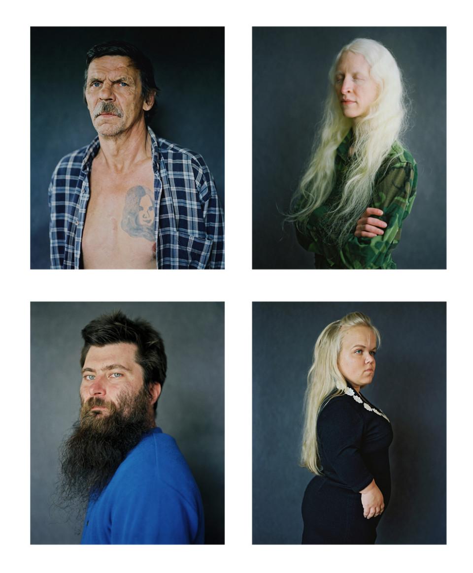 (Up on the right): Anna, 2014. (Down from the left): Kaarel, 2014; Helin, 2014. Photos: Birgit Püve