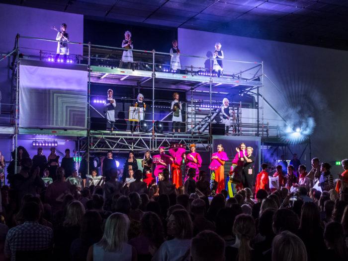 Estonian Fashion Festivali raames toimunud Mood-Performance-Tants aastal 2019. Foto: Tarmo Noorem
