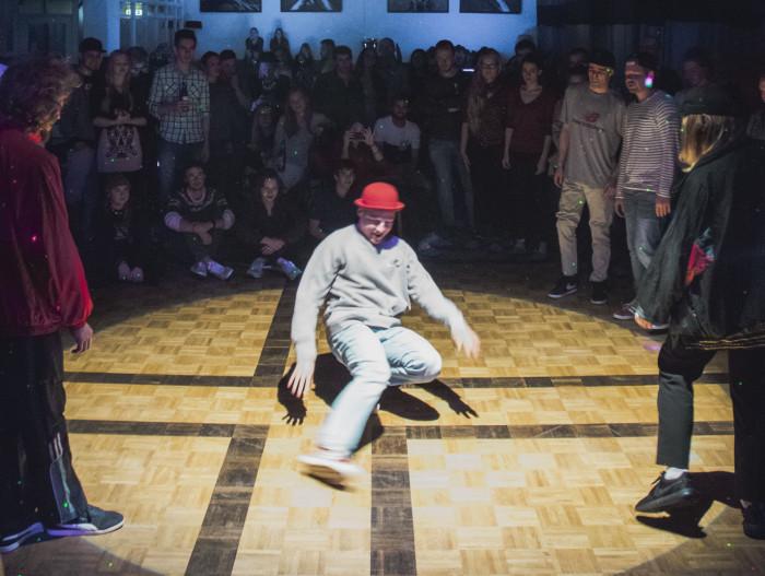 Estonian Funk Embassy eriüritus breik- ja hiphop tantsijatega. Foto: Markus Muide