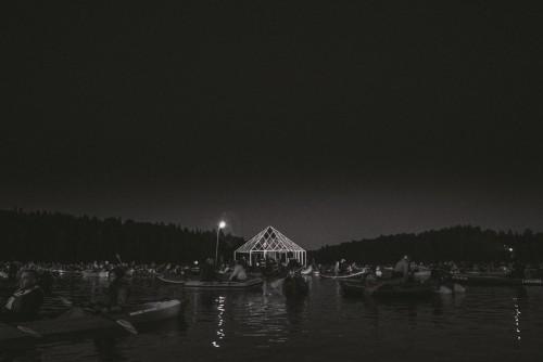 Terve Ezera Skaņasi tegevus toimub järveveel. Foto: press