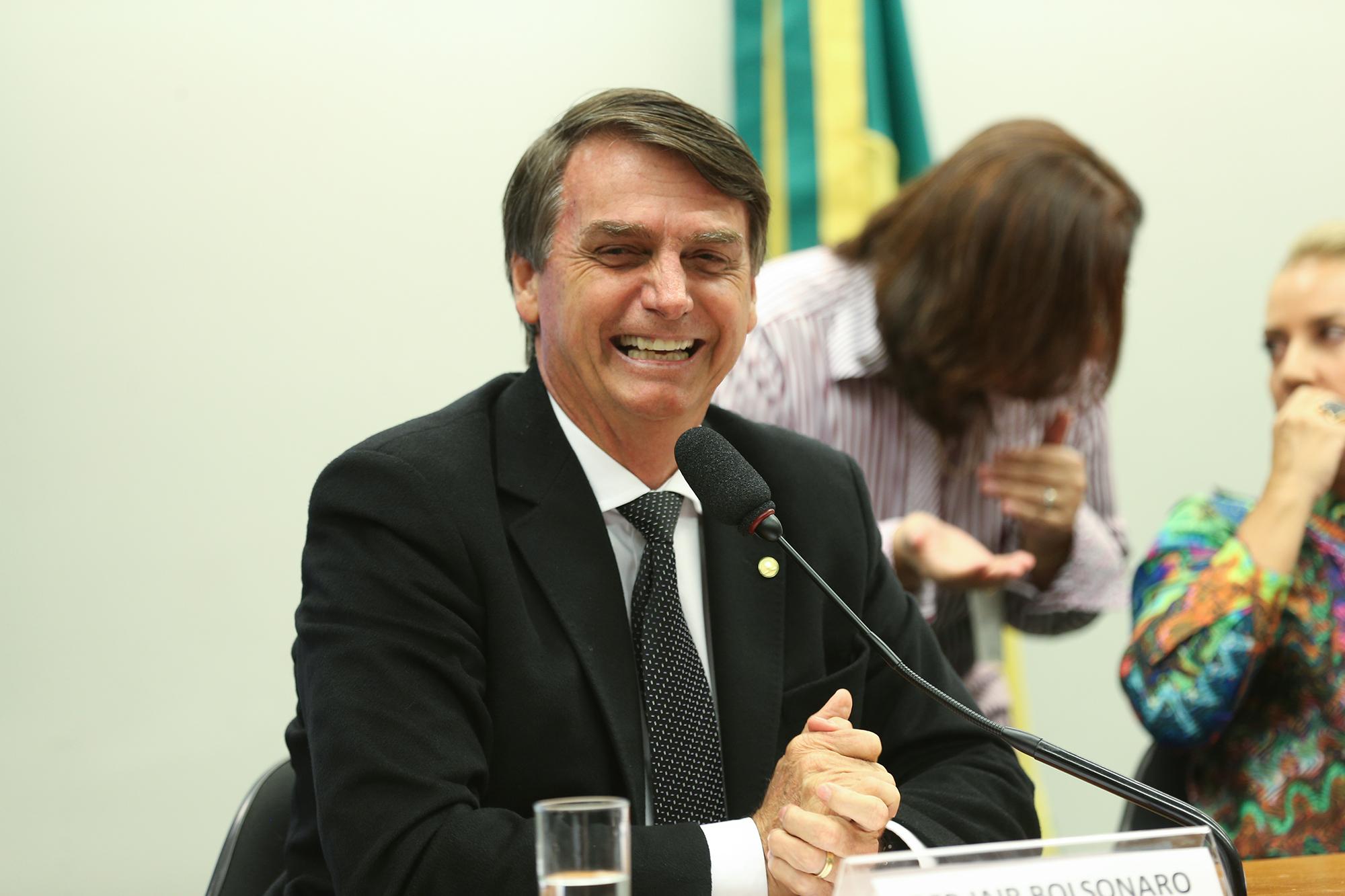 Värskel valitud uus Brasiilia president Jair Bolsonaro. Foto: Fabio Rodrigues Pozzebom/Agência Brasil (CC BY 2.0)