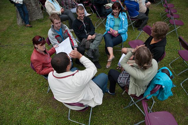 Festivali üks arvamusringidest. Foto: Tauno Tõhk
