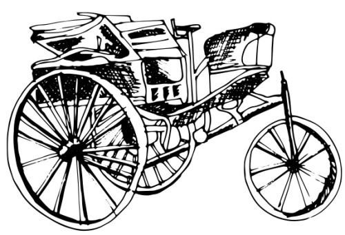 Esimene auto. Ikooni autor: Patricia Canales Odriozola (Noun Project, CC BY 3.0)