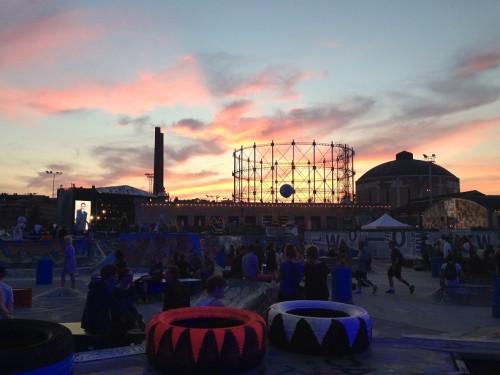 Vaade Flow festivalialale (2014). Foto: Triin Niinemets